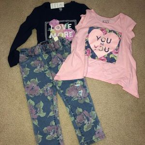 The Children's place girls outfits